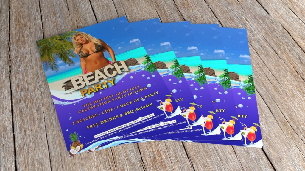 beach party flyer 2