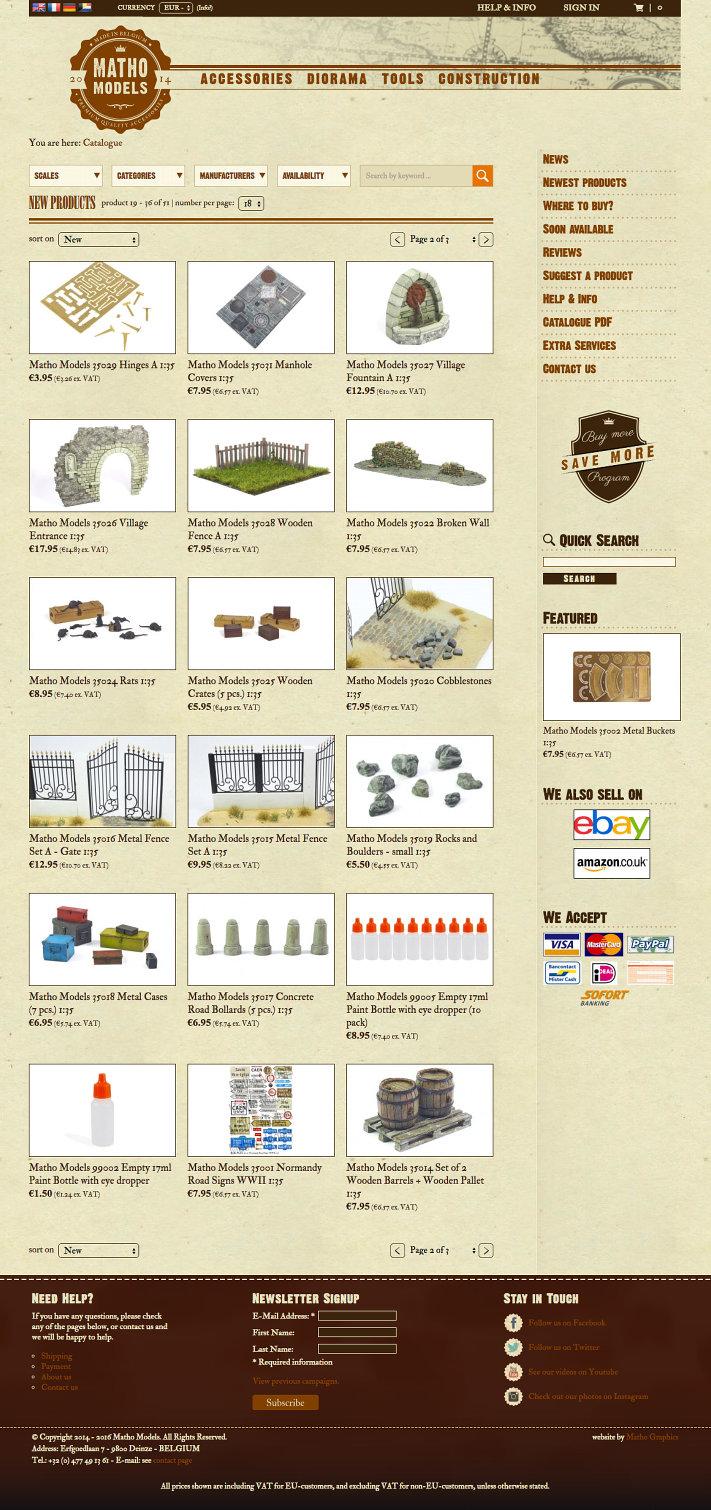 matho models e-commerce website2